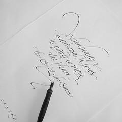 #chiarariva #calligraphy #calligrafia