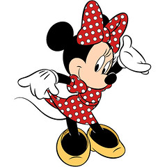 []LINE07 (sutaemon) Tags: sticker message    disney minnie mouse