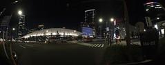 panorama granroof with fisheye conversion lens (HAMACHI!) Tags: tokyo 2016 japan granroof tokyostation street road wideconversionlens seneo iphone iphone6s