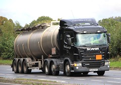 SCANIA G440 - WILLIAM GRANT & SON (scotrailm 63A) Tags: lorries trucks tankers