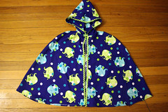 Happy elephants (quinn.anya) Tags: elephants cloak dressup preschool blue rickrack
