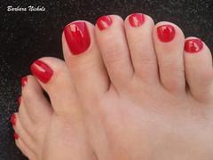 Colorama - Deixa Beijar (Barbara Nichols (Babi)) Tags: colorama deixabeijar vermelho red rednailpolish ps psesmaltados feet nailpolish nails