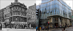 Oxford Street`1976-2016 (roll the dice) Tags: london westminster w1 londonist westend gay redlight peep sad mad ugly old local history comparison bygone retro nostalgia streetfurniture architecture oxfordstreet soho porn oldandnew pastandpresent hereandnow uk art classic urban england fashion shops shopping closed vanished demolished lost pub publichouse boozer beer ale drinking hideous victorian zara brookstreet leisurecentre site glass windows corner chimney crossrail canon tourism sale bargain theatre