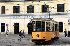 ATM 1504 (Davuz95) Tags: tram milano atm carello 1800 vecchio linea