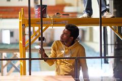 Week in Photos - 02 (Ole Miss - University of Mississippi) Tags: 2016 rkj2901 theatre set construction student diversity painting theweddingsinger montreboga university ms usa