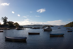 Balmaha Tranquillity on The Loch (monyet_uk) Tags: balmaha pod tomweir scotlandunitedkingdom 44 boats