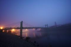DSC08508 (cemilÖzenli) Tags: eskişehir fener adası gaga yaya köprüsü porsuk sonbahar pedestrian bridge sunrise autumn