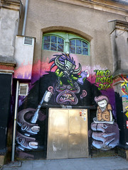 Graffiti in Graz 2012 (kami68k -all over-) Tags: graz 2012 graffiti legal bunt nychos