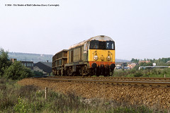 22/05/1989 - Shepcote Lane Junction, Tinsley, Sheffield, South Yorkshire. (53A Models) Tags: britishrail railfreight class20 20064 diesel freight shepcotelanejunction tinsley sheffield southyorkshire train railway locomotive railroad
