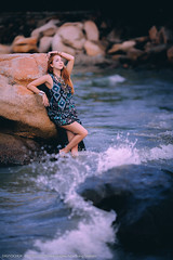 girls nhatrang нячанг (DavydchukNikolay) Tags: нячанг фотосвадьба фотосесия вьетнам муйне гоа бали девушка рыжая океан вода море купальник nhatrang vietnam girl