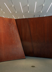 """""""Sequence"""" Indoors (JB by the Sea) Tags: sanfrancisco california october2016 sanfranciscomuseumofmodernart sfmoma richardserra sequence publicart"""