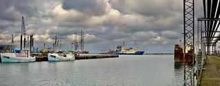 Grenaa Harbour, Denmark