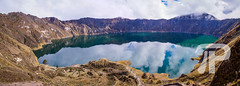 Crater lake Quilotoa (julianpetersphotography) Tags: america american andean andes angle attraction blue caldera clouds crater destination ecology ecuador ecuadorian edge environment green high highland highlands lagoon lake landscape latacunga latin latinamerica lookout mount mountain nature panorama panoramic reflection reserve scenery scenic slope south southamerica tourism touristic travel trek turquoise view volcanic volcanism volcano water wide cotopaxi ec