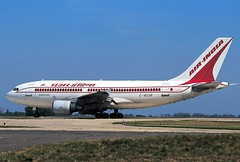 Air India Airbus A310-324 C-GCIO (Manuel Negrerie) Tags: cgcio india air airbus airbusa310 a310300 livery airliners jetliners cdg airport aviation logo widebody scheme vintage