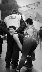 )) (dagomir.oniwenko1) Tags: london police people humans street style girl female nottinghillcarnival nottinghill england edis08edis08 blackandwhite bw mono canon blackwhite