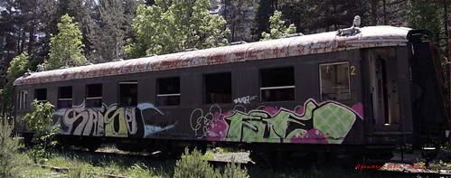 Estación Internacional de Canfranc, Huesca, España / Spain Junio de 2006