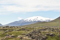 Snaefelljokull (EC@PhotoAlbum) Tags: islanda iceland snaefell snaefellsnesspeninsula volcano snaefelljokull vulcano viaggioalcentrodellaterra julesverne landscape paesaggio nature