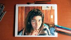 ''Cachetines'' por CristCast (Paulil) Tags: dibujo cristcast portrait draw art color