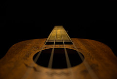 Into The Abyss (som1755) Tags: ukulele music darkness abyss 1200d t5