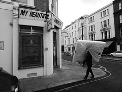 My Beautiful Laundrette (duncan) Tags: mybeautifullaundrette laundrette shop shopfront portobello nottinghill blackandwhite