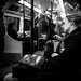 After work - London, England - Black and white street photography
