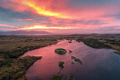 Ring Fort Island - Lough Doon - Donegal (Gareth Wray - 13 Million Views, Thank You) Tags: dji phantom 4 four drone aerial quadcopter grianan portnoo ardara rosbeg doon lough island lake bawan o'boyle aileach ancient irish kings hill lookout fort ring ringed county donegal ireland summer landmark stone monument tourist tourists site famous visit scenic countryside druid celtic gareth wray photography strabane nikon an blue sun sky historic heather bog heath national gaelic photographer vacation holiday europe kingdom outdoor architecture landscape wild atlantic way sunset seaside shore coast sea