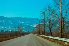 Roadtrip: Bulgaria and Macedonia (laurabarros5) Tags: 2011 bulgaria europe travel viagem highway mountains nature trees blue sky