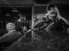 Portuguese Moustache (Vitor Pina) Tags: street streetphotography scenes streets shadows contrast candid city cidade faces face fotografia moments momentos monochrome men man photography people pretoebranco pessoas portraits portait portrait urban urbano night
