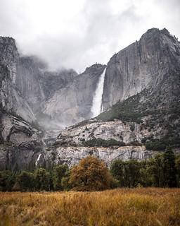 yosemite falls. yosemite. california.