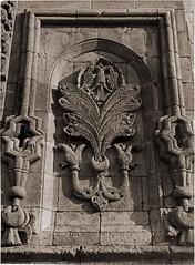 Tree of Life Motif on Twin Minaret Madrasa (SALTOnline) Tags: hayataac motif treeoflife ifteminarelimedrese iftbalkartal erzurum saltaratrma saltresearch saltonline