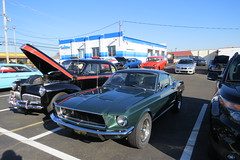 Old Forge C&C 11/19/2016 (Speeder1) Tags: old forge motors cars coffee meet lansdale pa ford mustang chevy corvette hot street rod machine classic vintage car show nova bel air nomad mercury mopar barracuda challenger buick riviera fairlane camaro truck oldsmobile convertible 442 tbucket v8 coupe roadster