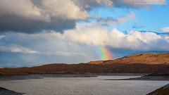 Loch Garry Rainbow (Damon Finlay) Tags: kinloch hourn kinlochhourn glengarry loch garry lochgarry highlands islands highlandsandislands scottish scottishhighlands nikon d750 nikond750 tamron 2470 f28 tamronnaturalbeautynatural beauty weather rainbow clouds landscape scotland