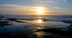 slangkop sunset6 (WITHIN the FRAME Photography(5 Million views tha) Tags: seascape sunset slangkop coastal surf splash lowlight nature glow sun horizon capetown southafrica fuji xt1 fujinon wideangle reflection