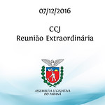 CCJ Extraordinária 07/12/2016