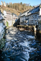 Monschau (photogo.pl) Tags: germany monschau oldtown fujifilm river
