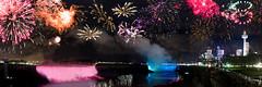 Niagara Falls Fireworks Panorama Web copyright-2 (Braden Bygrave) Tags: niagara falls parks ontario fireworks discover canada panorama 35mm nikon d500