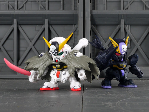 CROSSBONE  GUNDAM X-1 and CROSSBONE  GUNDAM X-2