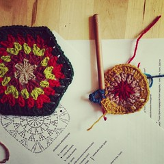 crochet 2 (Rosa Pomar) Tags: crochet workshop retrosaria