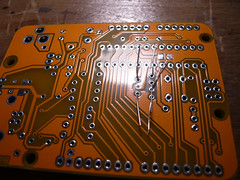 First components! (indiamos) Tags: electronics soldering circuitboard freeduino