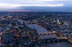 From the 72nd (rc-soar) Tags: sunset sky london thames skyscraper view stpaulscathedral shard da21 pentaxk5ii