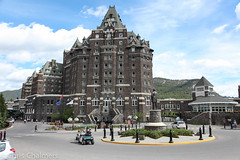 Banff Springs Hotel (Champots) Tags: canada rockies whistler rocky falls bow banff lakelouise mountaineer banffspringshotel rockymountaineer lakemoraine