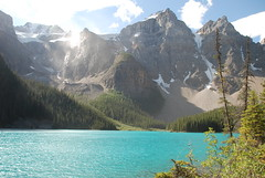 104 (owlymole) Tags: camping lake canada nature landscape scenery roadtrip alpine banffnationalpark glaciallake