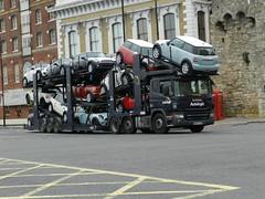 WX55CSO Autologic Scania P420 Car Transporter (graham19492000) Tags: cartransporter eddiestobart autologic scaniap420 wx55cso