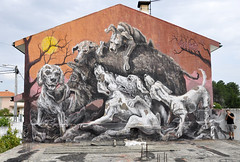Violant (VIOLANT3) Tags: street art portugal violant muralism