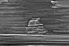 Try to keep up with yourself (Ray Zandvoort!) Tags: motion blur holland art netherlands dutch bicycle speed photography artistic nederland sound barrier pan panning amstel breaking blurism rayzandvoort division67 rayzr showamsterdam rayzrnl rayzreu