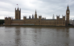 View of the Palace of Westminster from across the Thames