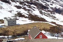 Near Myrdal railway station Norway. (denisbin) Tags: norway myrdal railway cottage house snow