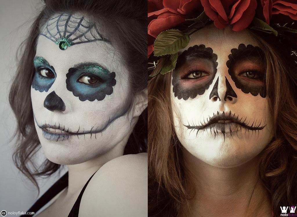 catrinas noloyflaka tags girls halloween beauty make up night dead katrina catalina eyes