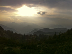 A Like Story (dorin frunzete) Tags: trip trees sunset panorama sun mountain alps tree clouds forest sunrise austria fantastic europe paradise 4 valley lower schneeberg highest dorin iphone viennese 2013 frunzete