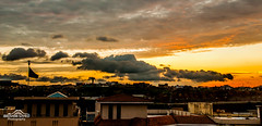 Colors of Sunset (Ibrahim.Sayed) Tags: pakistan sunset 2 panorama sun colors clouds photoshop lens landscape golden nikon cloudy shots pano sigma sharp together adobe hour stitching dslr setting 1770 copy defense stiched islamabad lightroom dha rawalpindi d90 f284